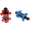 The new multicolor quick order aluminum alloy straight pull FT-028FCB 12H J-bend bicycle hub light BMX hub