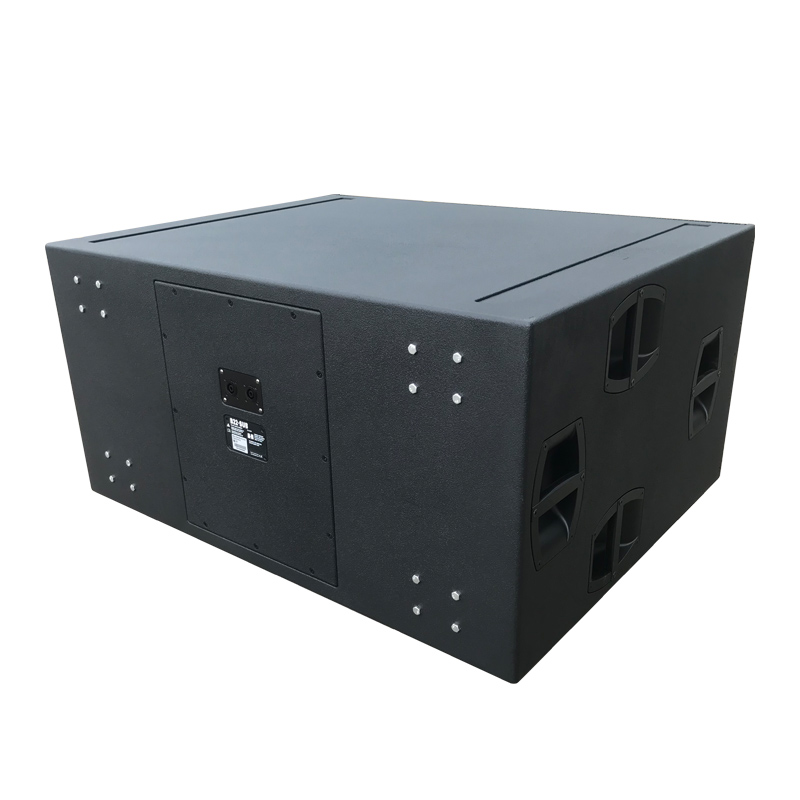 B22 Long Excursion Dual Sistema de subwoofer de 18 pulgadas