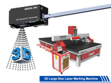 Big Large format laser marking machine widely used in various industries