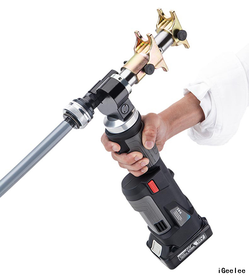 PZ-1240PE Hydraulic Battery Powered Axial Press Tool and Expand Tool for 16, 20, 25& 32mm