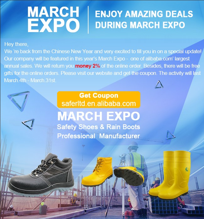safer march expo