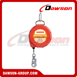 Safety Lifeline, Wire Rope Retractable lifeline