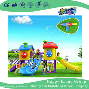 Outdoor Slide Cartoon Children Playground Equipment (BBE-A59)