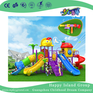 Outdoor Eco Friendly Slide Combination Children Playground (BBE-A66)
