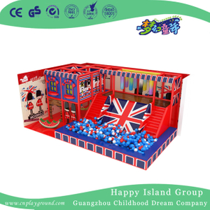 American Style Funny Half Open Small Indoor Playground For Kids (TQ-200410)