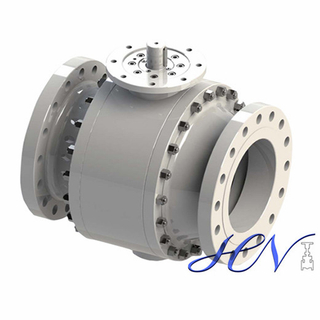 Forged Bare Stem Side Entry Trunnion Mounted Ball Valve