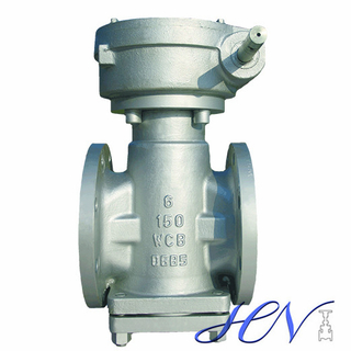 Pressure Balanced Flanged Gear Type Lubricated Plug Valve