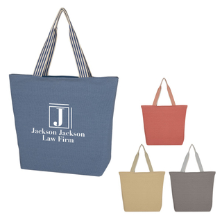 Classical Canvas Beach Bag Polycotton Polycanvas Tote Shopping Bag