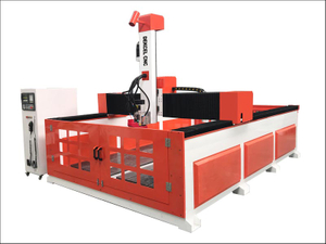 180-degree rotate spindle ATC 4 axis cnc router for EPS foam 2040