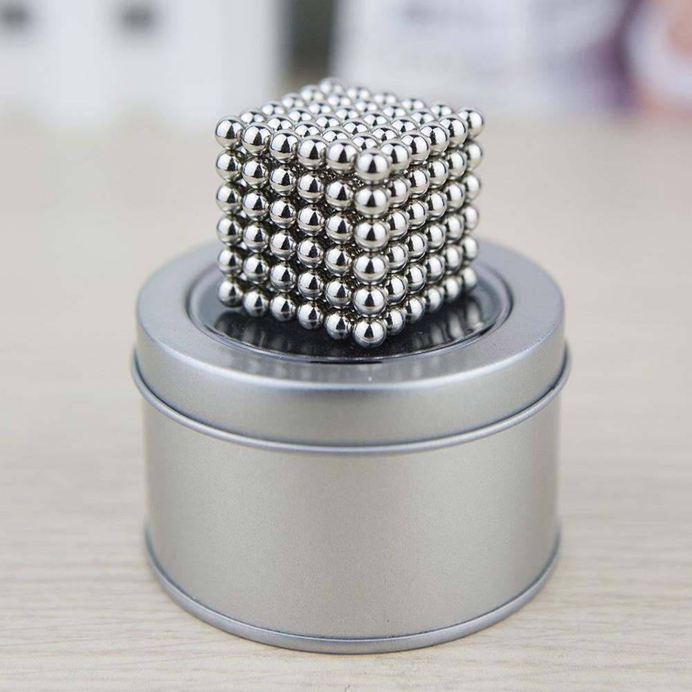 Hot Selling 5mm 216pcs Colorful Nickel Magnetic Balls