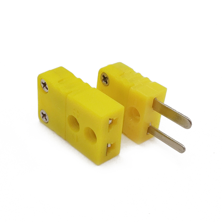Miniature Flat Pin Thermocouple Connector