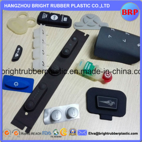 Customized China Silicone Rubber Keypad