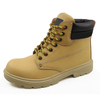 11K split nubuck leather steel toe working safety shoes dubai