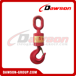 High Quality G80 Forged Hook Universal Vertical Swivel Lift Hook with Latch