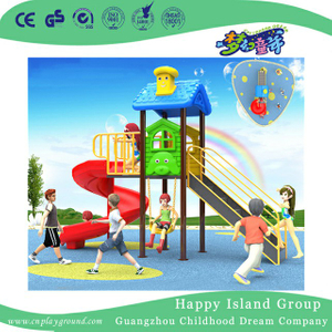 Small Simple S Slide Outdoor Children Playground (BBE-B5)
