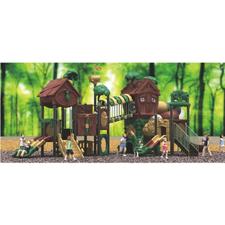 Outdoor Large Children Play Tree House Playground Equipment (ML-2000101)
