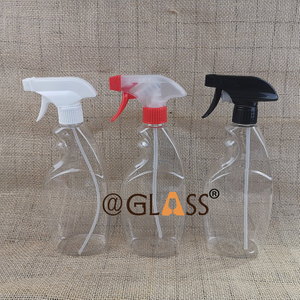 16oz /500ml PET Plastic Bottles with Trigger Sprayers