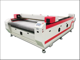China cloth laser cutting machine manufacturer with good price