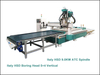 HSD 5+4 Boring Spindle ATC Wood Furniture Cutting Drilling Engraving CNC Router