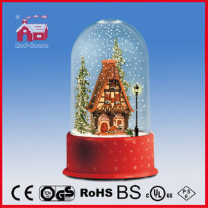 (P23036M) Colorful House Decoration LED Lights Gift with Music