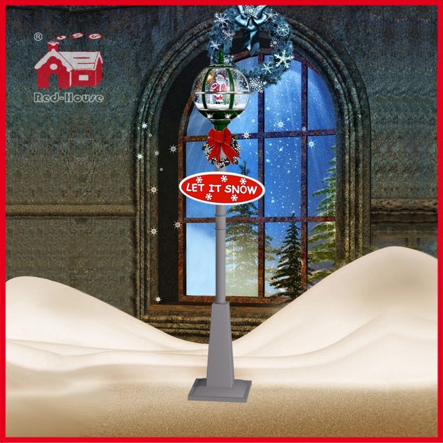 (LV30175D-GSS11) Christmas Decorative Light Santa Claus and LED Lights Lamp