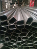 D section polished stainlness steel tube