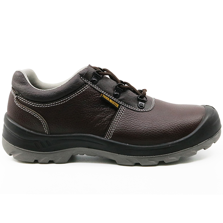 Acid resistant anti slip construction safety shoes work