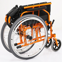 Adults Lightweight Folding Pride Manual Wheelchair Dimensions