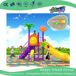 Backyard Mini Plastic Slide Children Playground (BBE-A46)