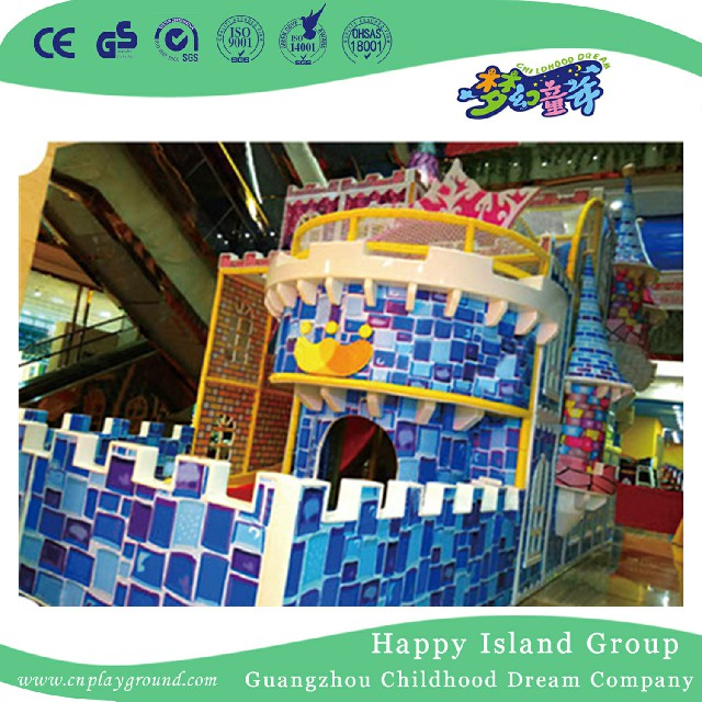 Middle Size Castle Indoor Playground for Soft Play Toys (HHK-8401)