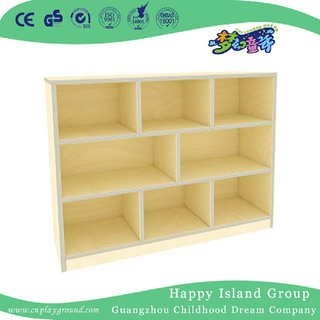 Preschool Multilayer Board Wood Toys Cabinet (HJ-4406)