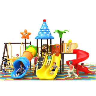 School Children Swing And Slide Combination Playground(BBE-N29)