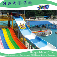 Outdoor Amusement Park Large Family Water Slide (HHK-9701)