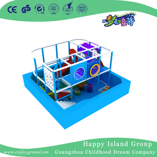 Family Blue Ocean Kids Play Small Indoor Playground (TQ-180710)