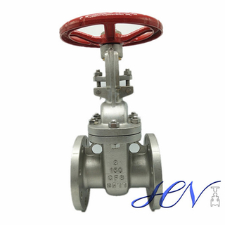 Air Pump Stainless Steel Flanged Low Pressure Gate Valve