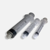 3-part Disposable Luer Lock Tip Syringe