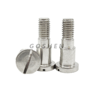 Stainless Steel 304 slotting round Head Shoulder Bolt