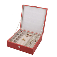 Elegant Cheap Sample Cost Jewelry Display Box New Product Jewelry Box For Girl