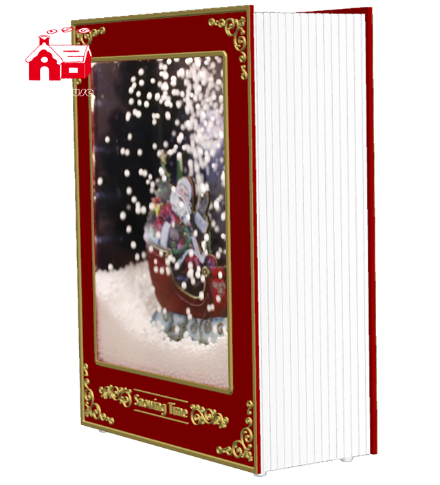 Newest Bible Style Fancy Book Shaped lantern Decoration for Gift