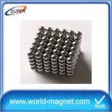 Sintered Neodymium Ball Magnet Strong Rare Earth Fridge Magnet