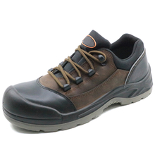 china factory sales leather steel toe work shoes safety