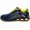 Slip resistant anti static metal free fashionable airport safety shoes work