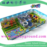 Amazing New Design Indoor Ocean Playground Naughty Castle for Kids (HD-16SH02)