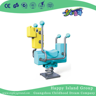 Outdoor Geometry Animal Plastic Rocking Ride Equipment (HJ-20205)