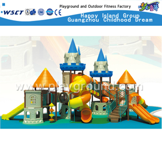 Large Outdoor Castle Galvanized Steel Playground for Children Play (HD-2203)