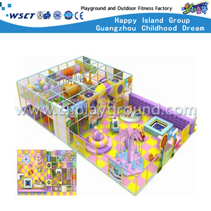 Kids Soft Cartoon Indoor Playground Equipment for Kindergarten (MH-05617)