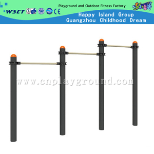 Outdoor School Gym Equipment Triple Horizontal Bar for Student Limbs Training (HD-12904)