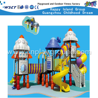 Guangzhou Factory Supplies Large Outdoor Children Outer Space Galvanized Steel Playground for Sale (A-01501)