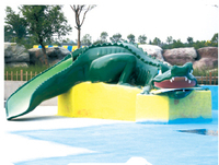 aqua game for water park playground, water corcodile