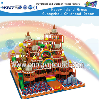 Amusement Park Castle Indoor Playground Equipment For Kids (HE-06901)